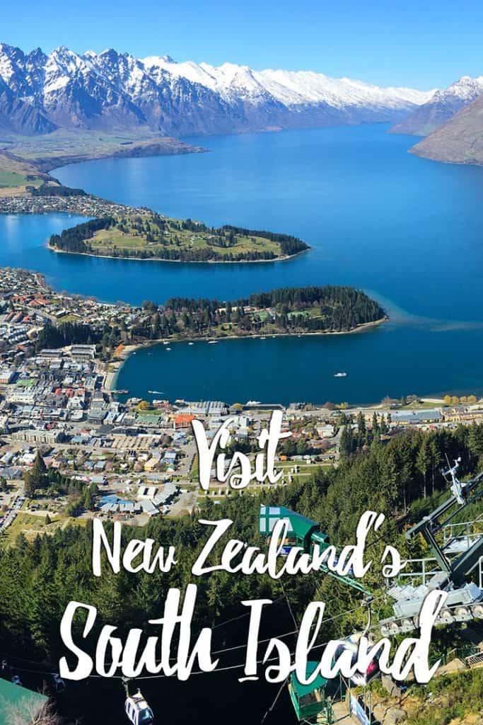 South Island itinerary NZ