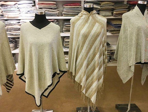 Nepal cashmere ponchos