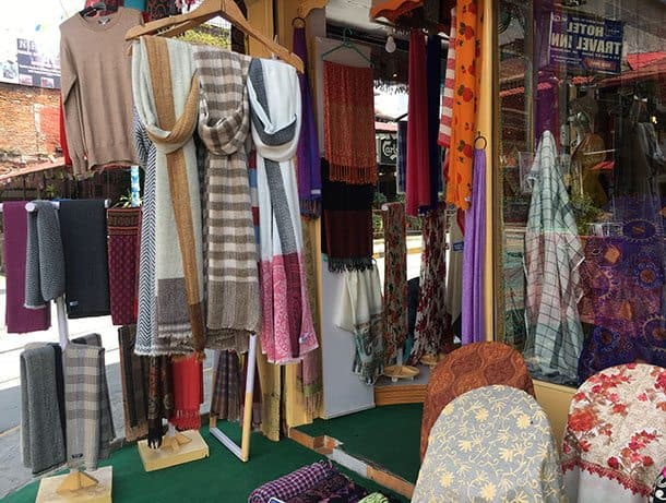 Pokhara cashmere and silk