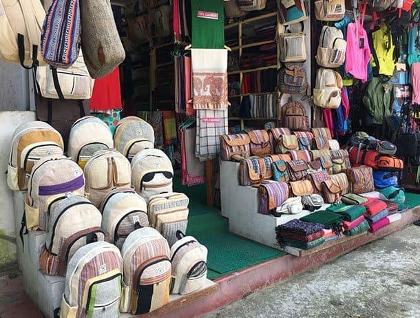 Shopping in Pokhara