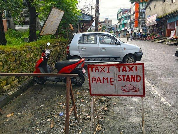 Pokhara taxi