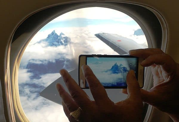 Mt Everest flight seeing