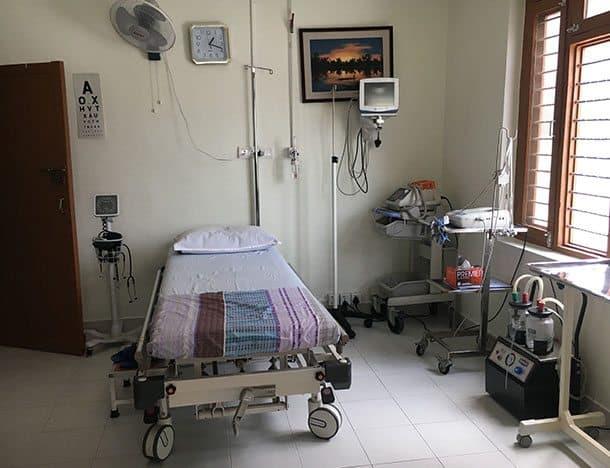 Ciwec Hospital room