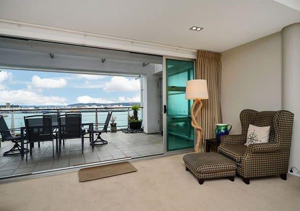 Auckland private apartment Princes Wharf