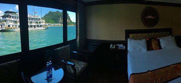 My halong bay cruise cabin