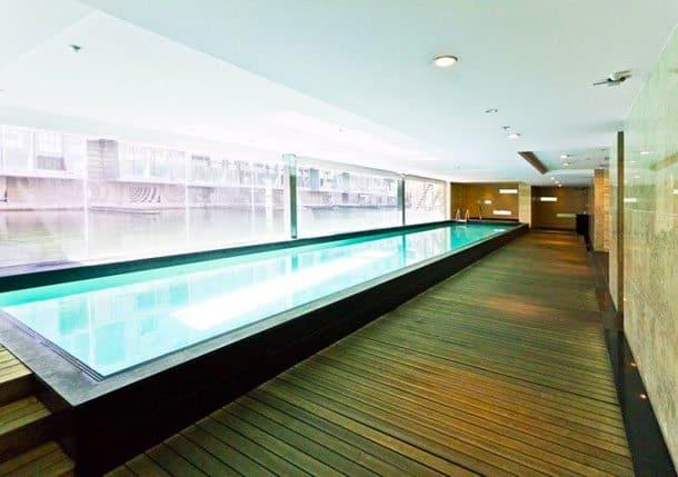 Lighter Quay apartment pool