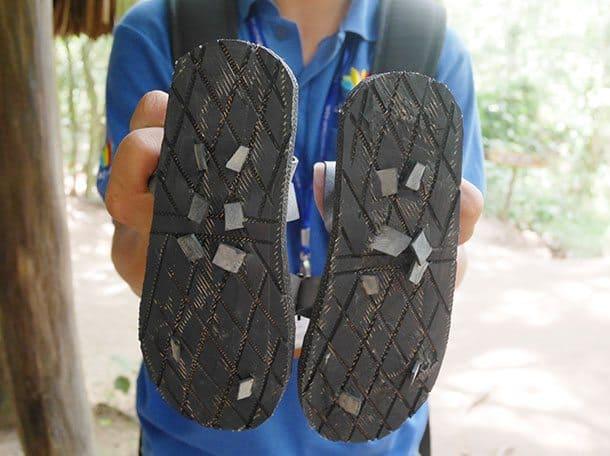 Vietnam war sandals