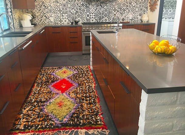 Midcentury designed kitchen