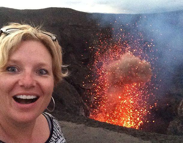 Exploding Mt Yasur Vanuatu