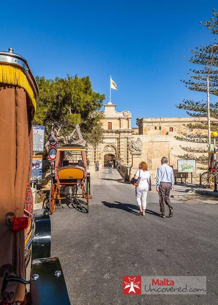 Mdina City walls Malta