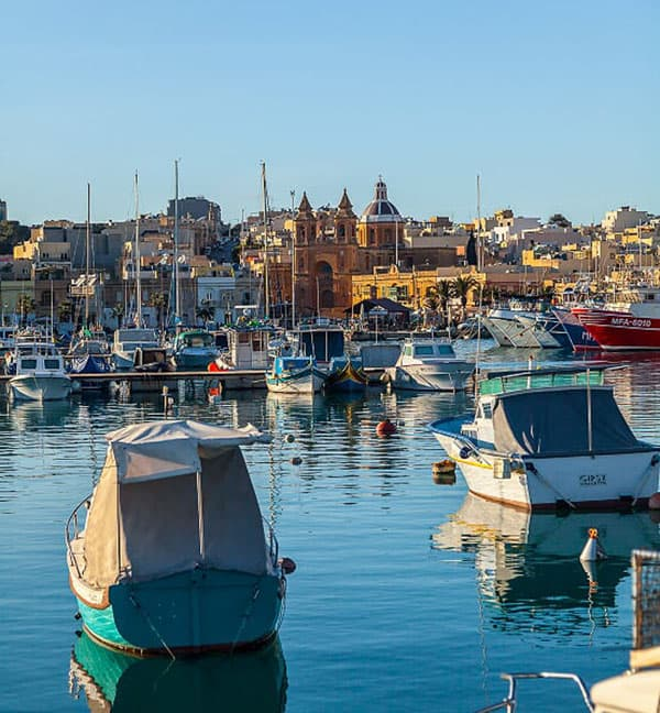 Marsoxlokk fishing village Malta