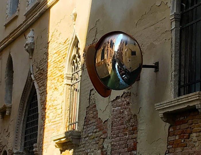 venice gondola mirror
