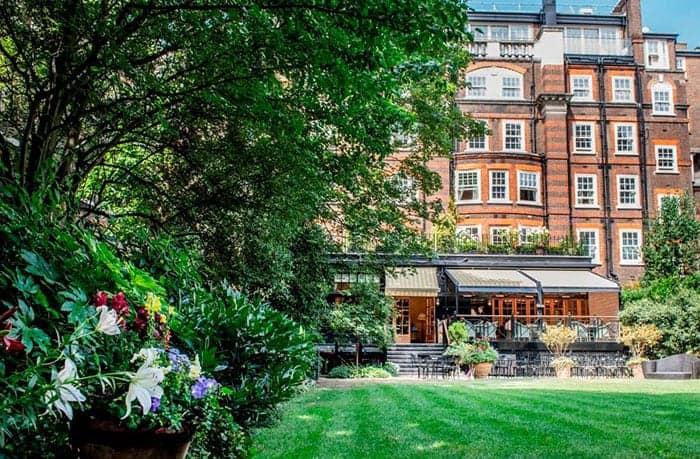 Goring hotel garden London