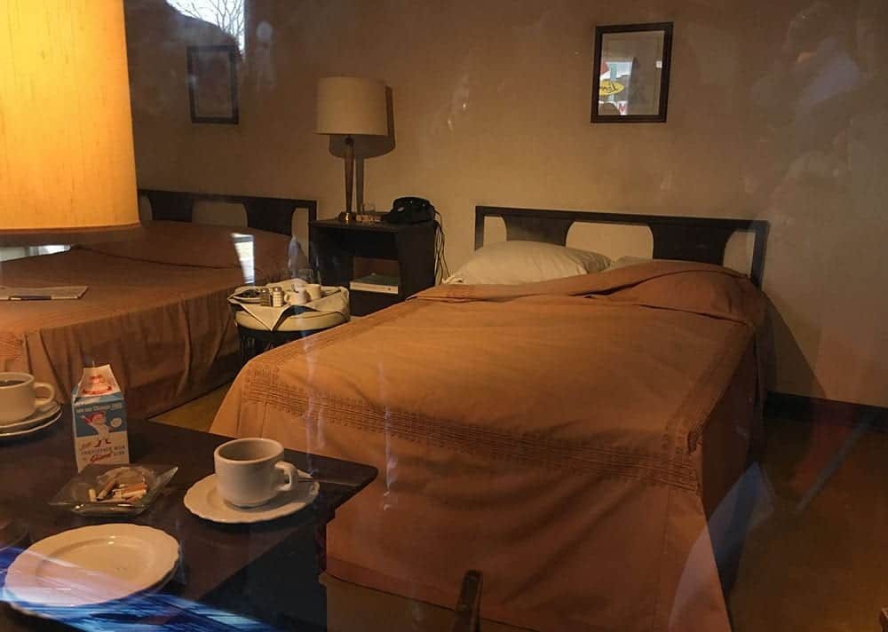 Martin Luther King room at Lorraine Motel