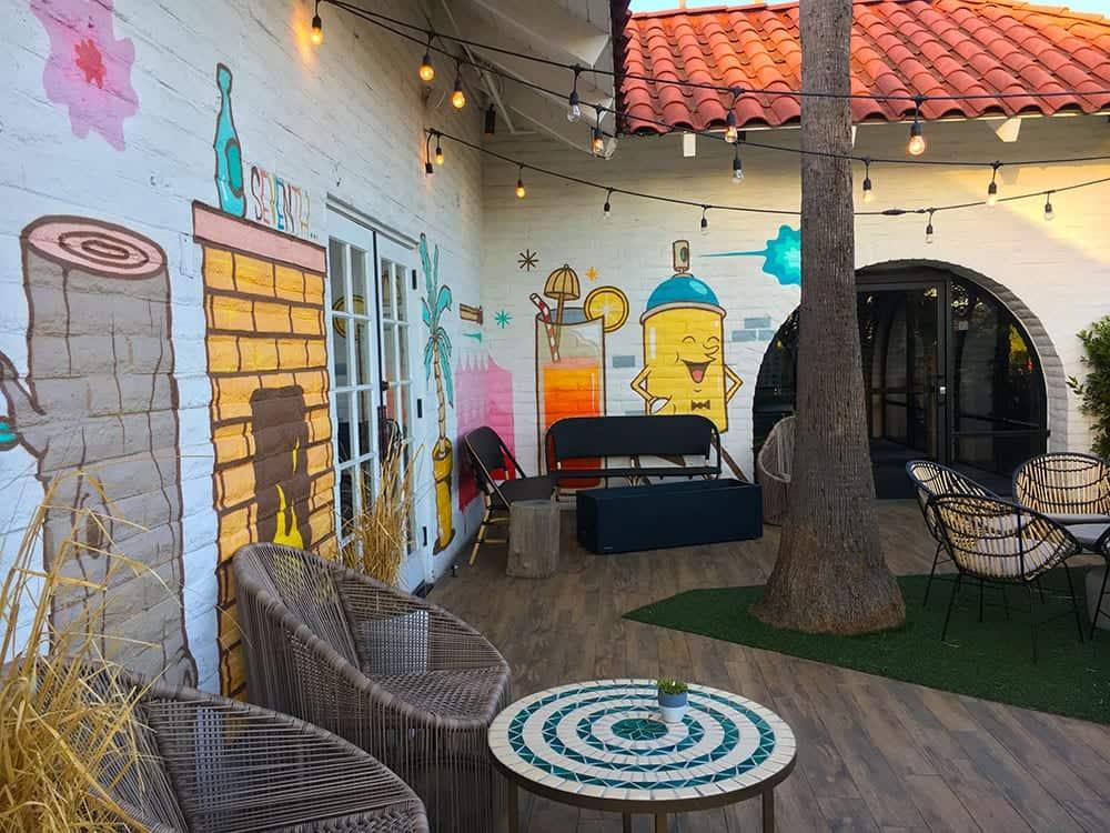 Goodland outdoor bar