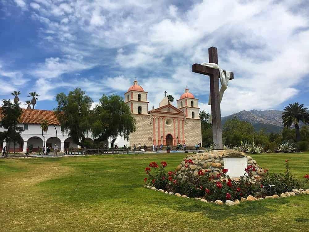 The Mission Santa Barbara