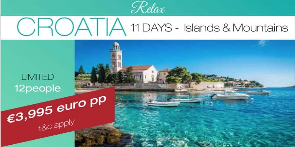 Croatia tour 2020