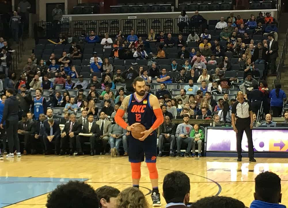 playing the Memphis Grizzlies
