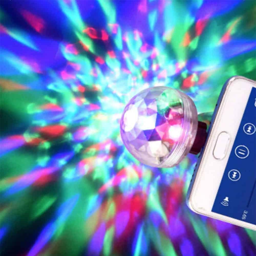Disco ball for phone