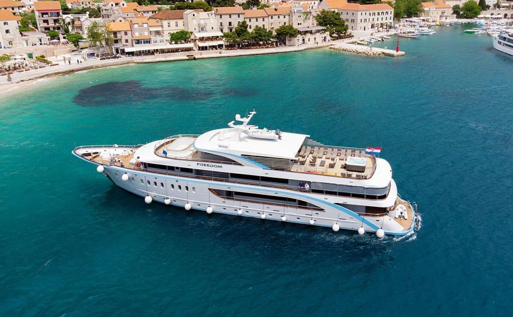 Yacht in Croatia