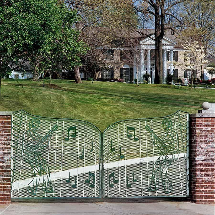 The gates of Graceland