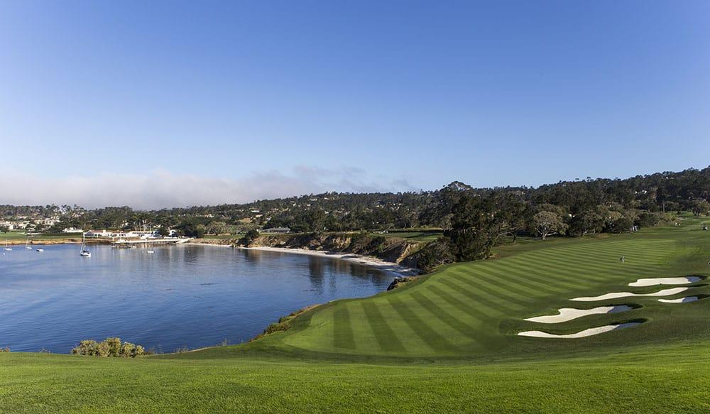 Pebble Beach golf course, Monterey, California