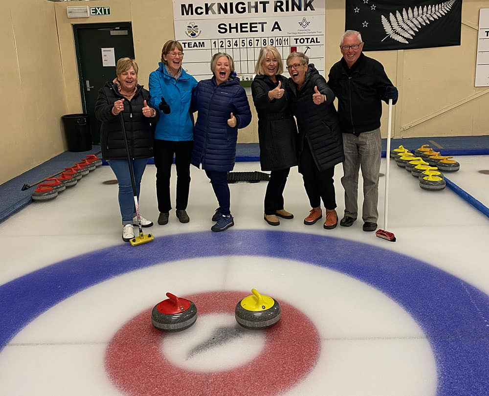 Our curling teams