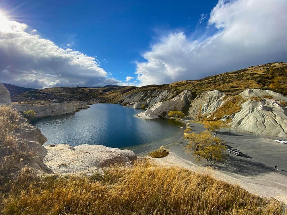 Blue Lake on the Manuherikia River