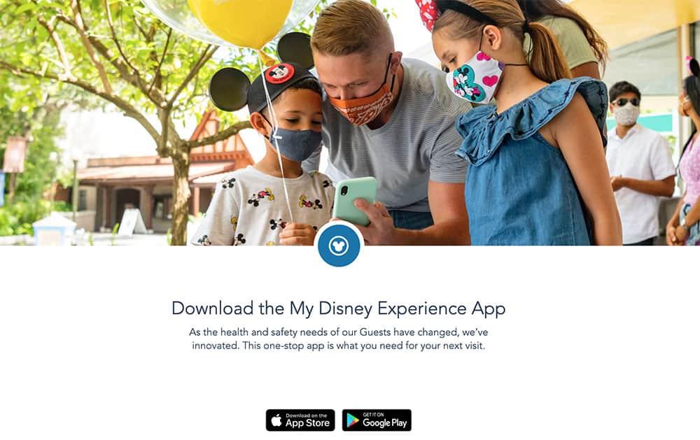 Disney app widget