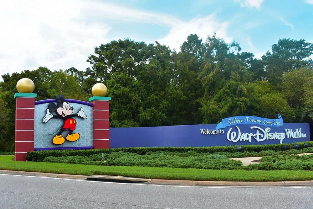 Disney World gates