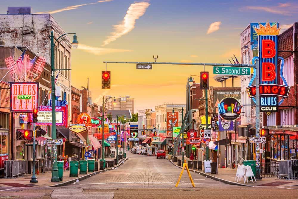 Beale St Memphis