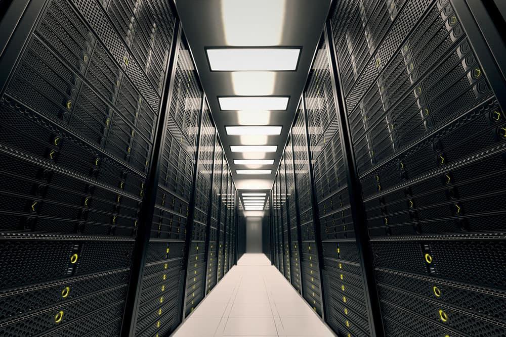 Data server room