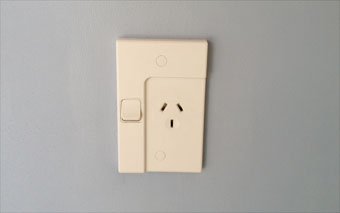 Australia and NZ power outlet