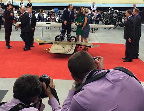 Royal Visit NZ Avanti bike
