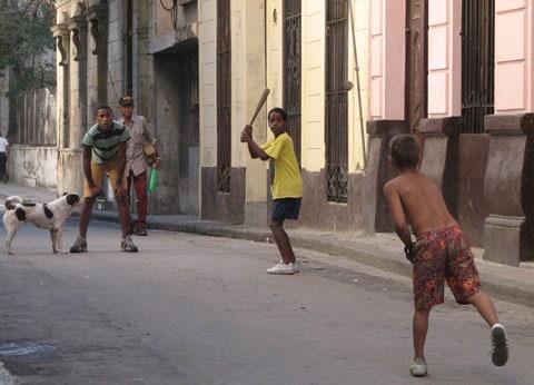 Baseball Cuba style