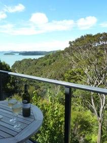 Bay of Islands balcony