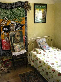 Bob Marley's bed