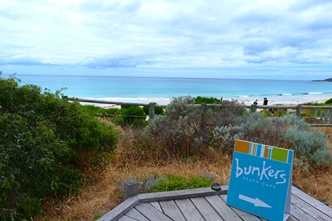 Bunkers at Bunker Bay