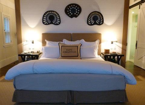 Cape Kidnappers bedroom
