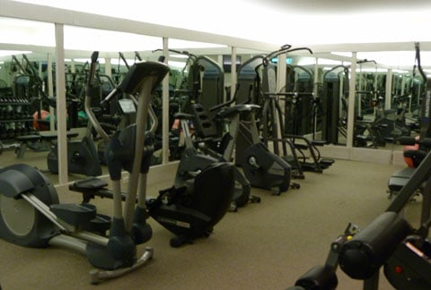 Cape Kidnappers gym