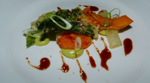 Cape Kidnappers entree