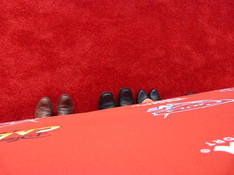 Cars Land red carpet