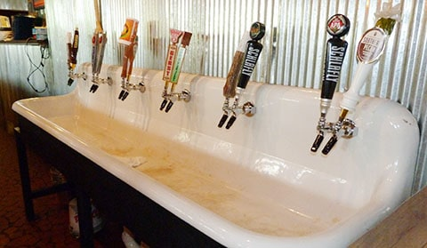 Central BBQ beer bar