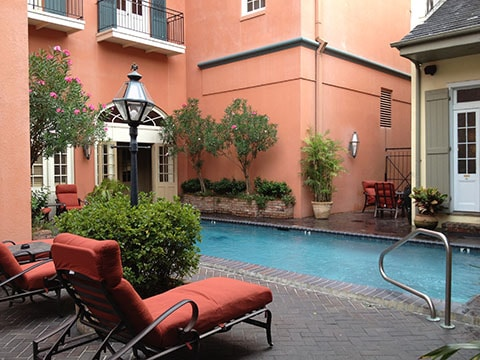 Dauphine Hotel New Orleans in the French Quarter