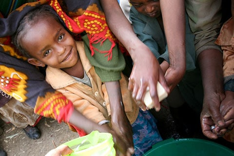 Recycled soap in Ethiopia