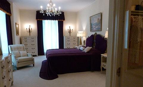 Elvis's parents bedroom