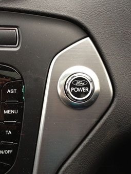 Ford Mondeo ignition