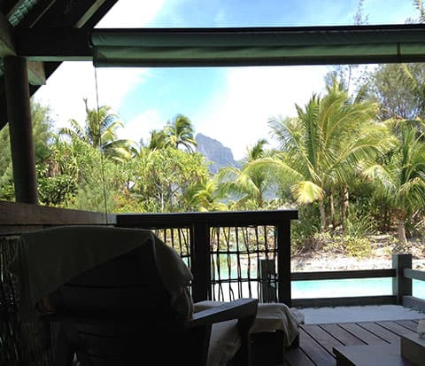 Four Seasons spa Bora Bora
