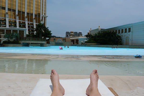 Banyan Tree wave pool Macau