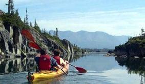 Holland America kayaking